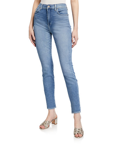 High-Waist Gwenevere Ankle Skinny Jeans