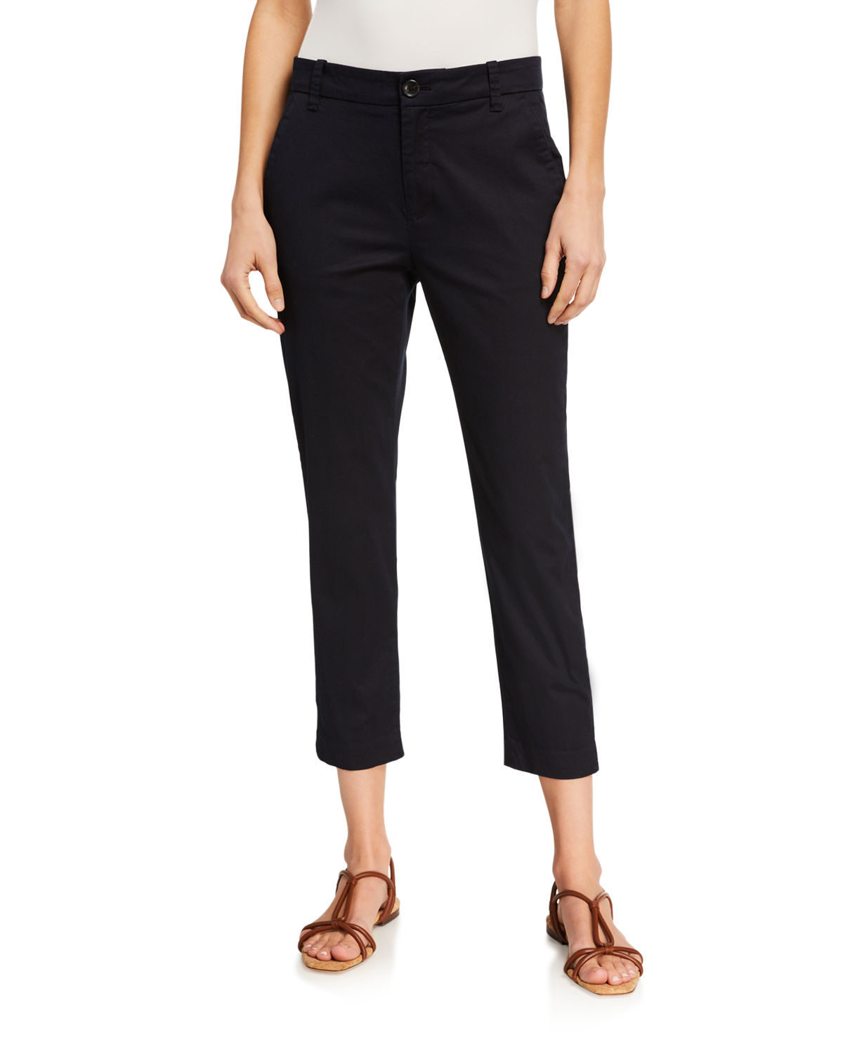Vince CROPPED CHINO PANTS
