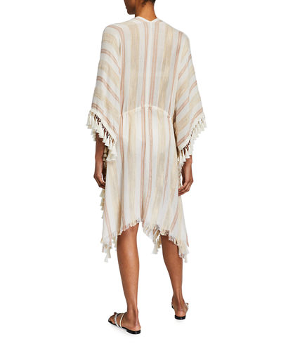 Cover-Up with Tassel Trim