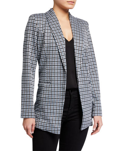 Shawl Collar Ponte Jacket
