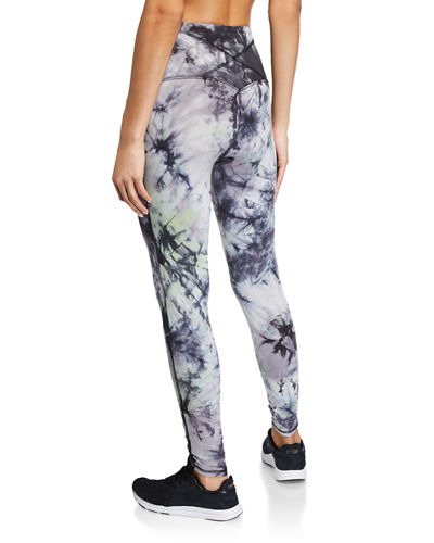 Chrissy Tie-Dye Ankle Leggings