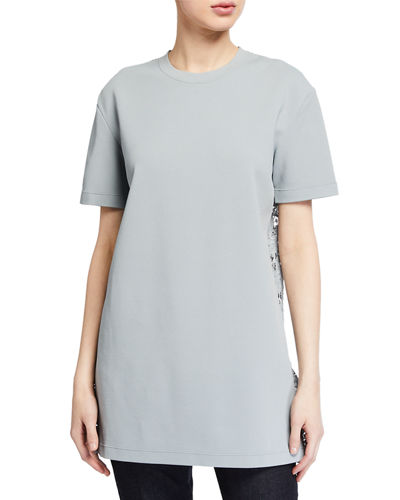Short-Sleeve Sweaterdress