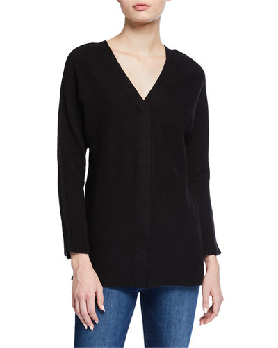 Reversible Neckline Comfort Cozy Top