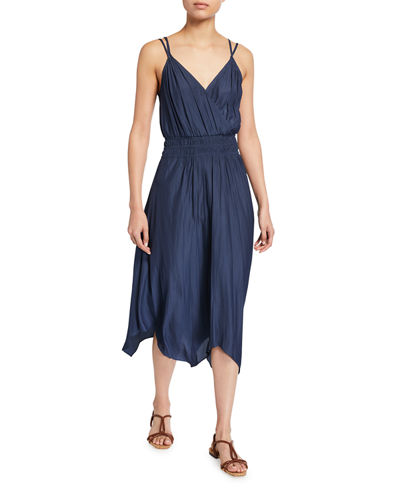 Henrietta Asymmetric Maxi Dress