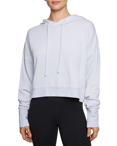 Twofer Extended Cuff Hoodie