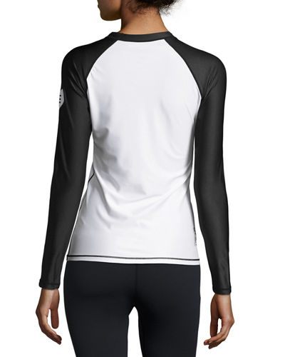 Stretch Long Sleeve Active Top