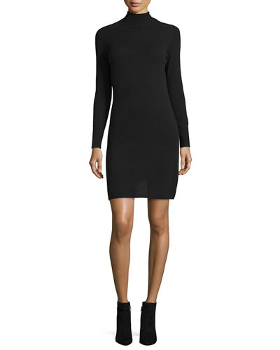 Neiman Marcus Cashmere Collection Cashmere Long-Sleeve Turtleneck