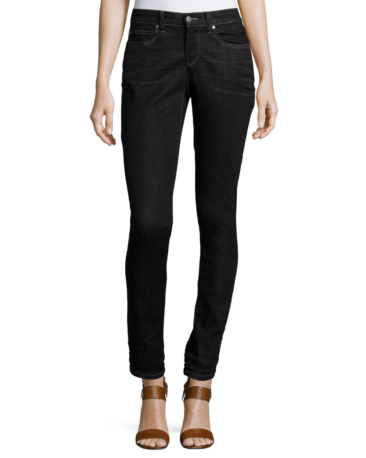 Eileen Fisher Jeans PLUS SIZE ORGANIC SOFT STRETCH SKINNY JEANS