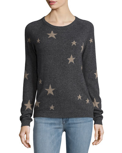 Cashmere Star Pullover Sweater
