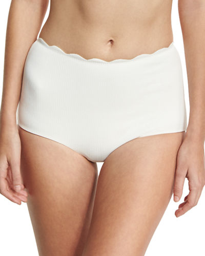 Marysia Palm Springs High-Waist Swim Bikini Bottom