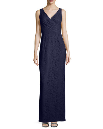 Lark Sleeveless Column Gown