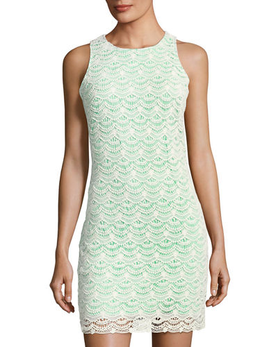 Sawyer Sleeveless Lace Sheath Dress