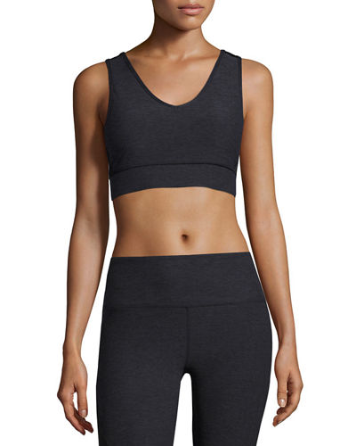 Nanette Lepore Play Womens Solid Bra Top