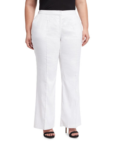 Kenmare Linen-Blend Pants, Plus Size
