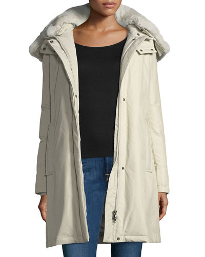 Jacket Hooded Woolrich Tech Bow Bridge Fabric xxUPv