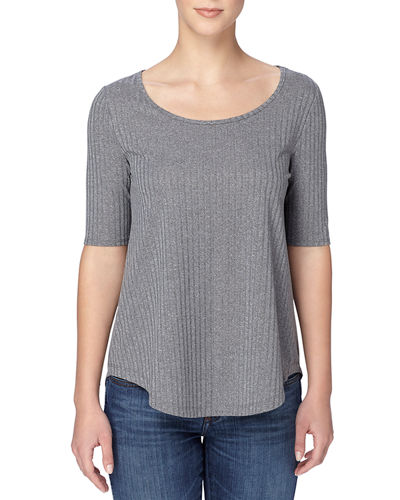 Catherine Catherine Malandrino Willie Rib-Knit Top