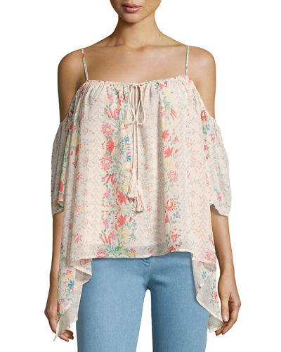 Cam Cold-Shoulder Top