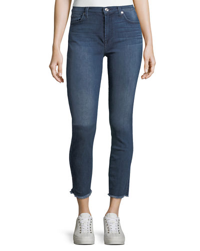 Gwenevere Destroyed Ankle Jeans