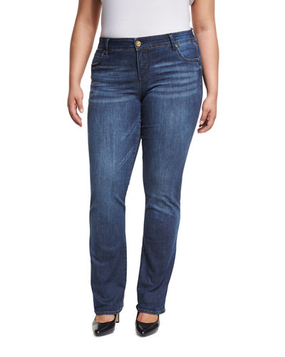 Natalie Boot-Cut Jeans, Plus Size