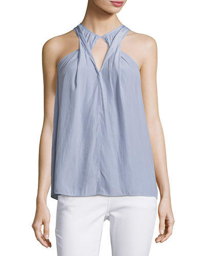 Kara Twisted Keyhole Top