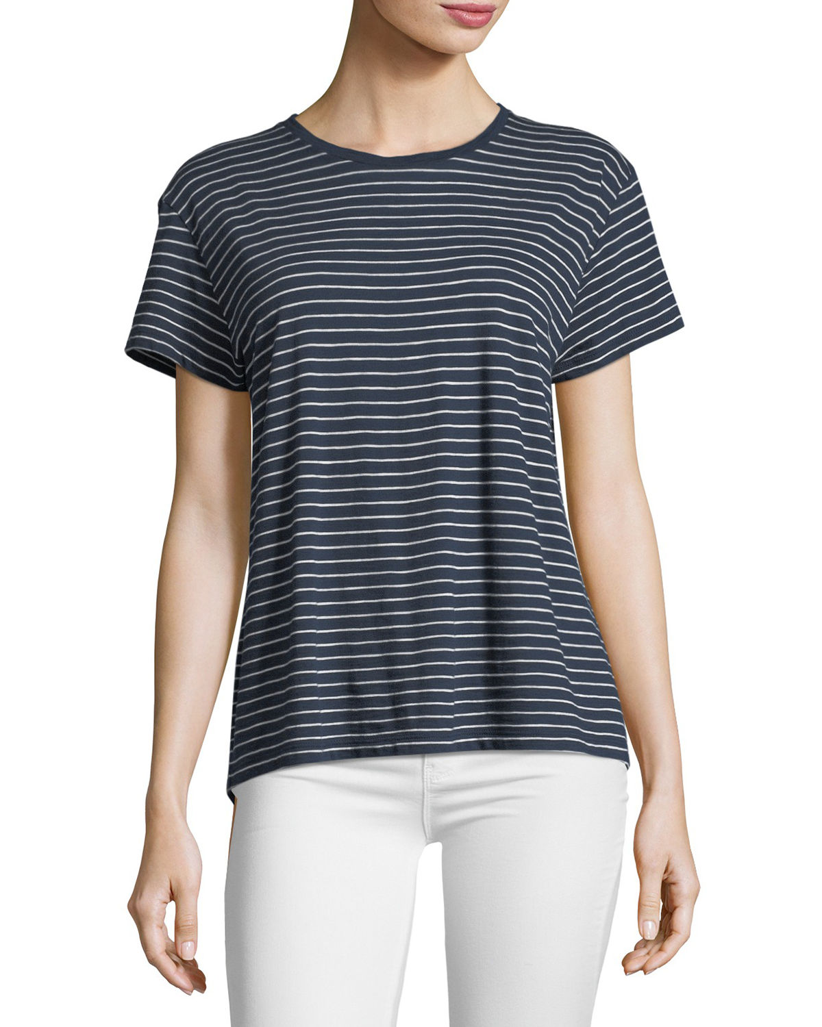 Relaxed Striped Tee