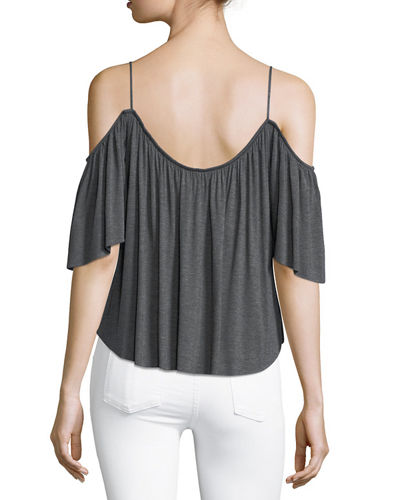 Fairy Cold-Shoulder Top