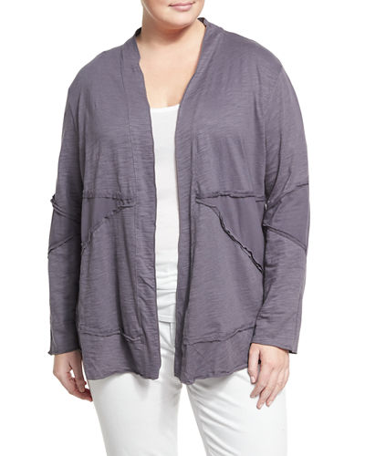 Forever Young Relaxed Jacket, Plus Size