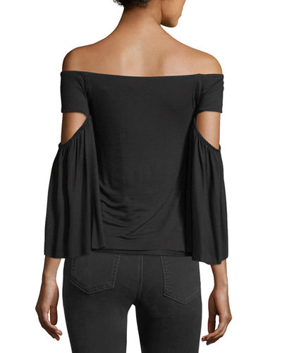 Bell Of The Ball Off-the-Shoulder Top