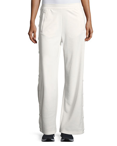 7b0a26725fa9 Tory Sport Banner Wide-Leg Tear-Away Track Pants
