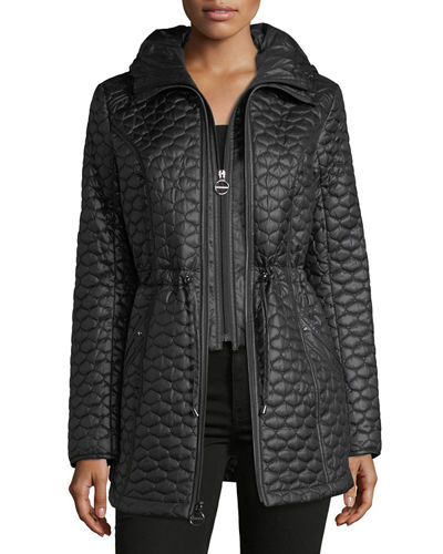 Laundry By Design Plus Tulip Mini Quilted Jacket
