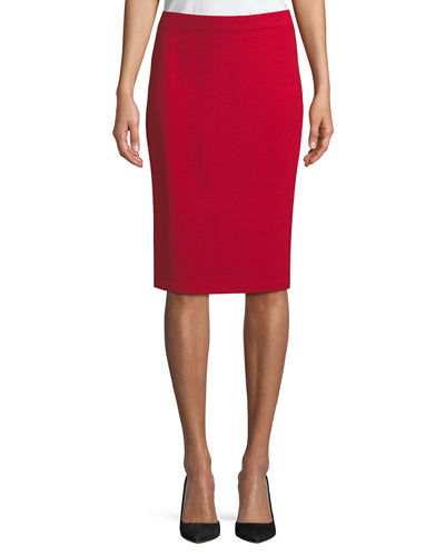 Santana Knit Pencil Skirt