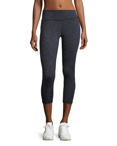 Core Swerve Wide-Waist Capri Leggings