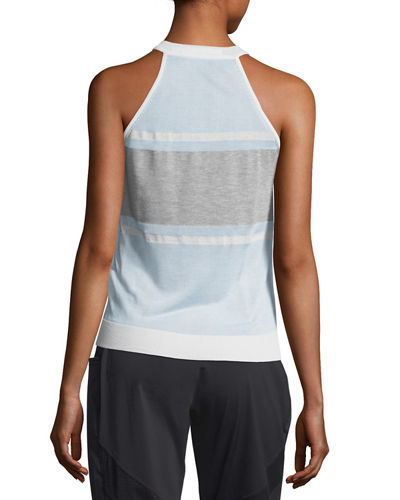 Vue Mesh-Panel Sweater Tank