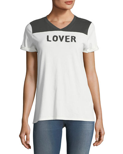 Nation LTD Lover-Fighter Rugby Tee