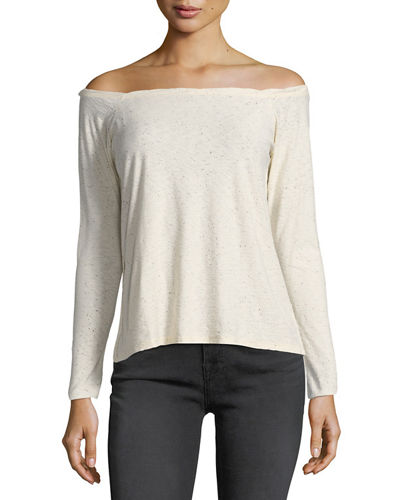 Nation Ltd CHELSEA OFF-THE-SHOULDER TEE