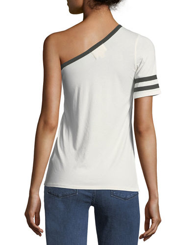 Yorkville One-Shoulder Rugby Tee
