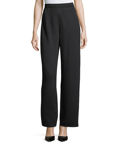 Santana Knit Stove-Cut Pants