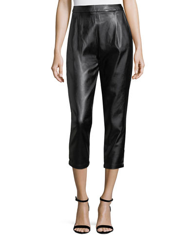 Audrey Pleather Pants