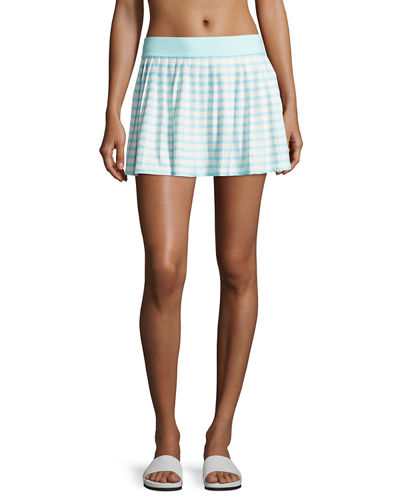 nahant shore striped coverup skirt