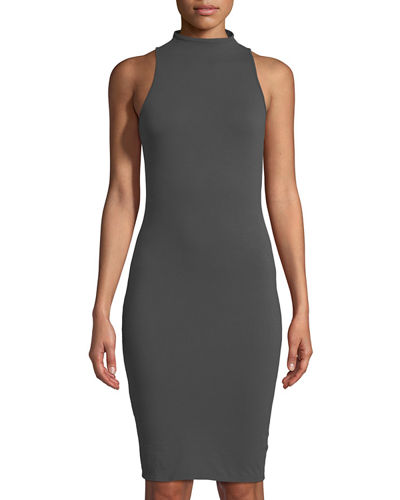 Suzie Mock-Neck Bodycon Dress