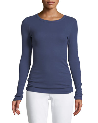 Three Dots  LONG-SLEEVE THERMAL TEE