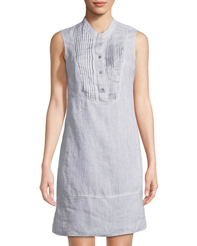 Drifty Linen Tunic Dress