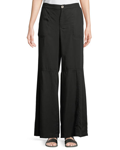 Tory Tiered Wide-Leg Pants