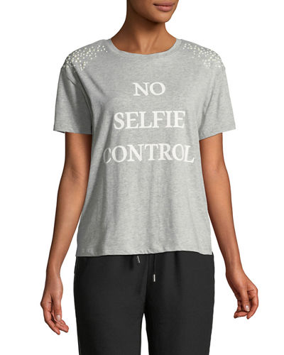 No Selfie Control Short-Sleeve Tee