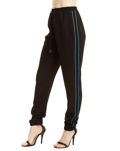 Side-Stripe Jogger Sweatpants