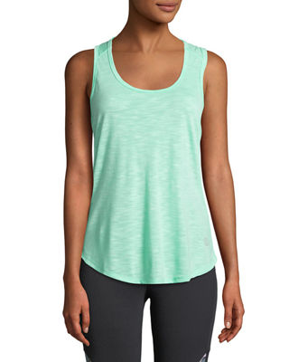 THE BALANCE COLLECTION Catalina Triangle-Back Tank in Green