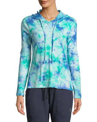 THE BALANCE COLLECTION Tatum Tie-Dye Hoodie in Green