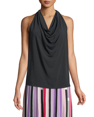 Cowl-Neck Layering Tank Top