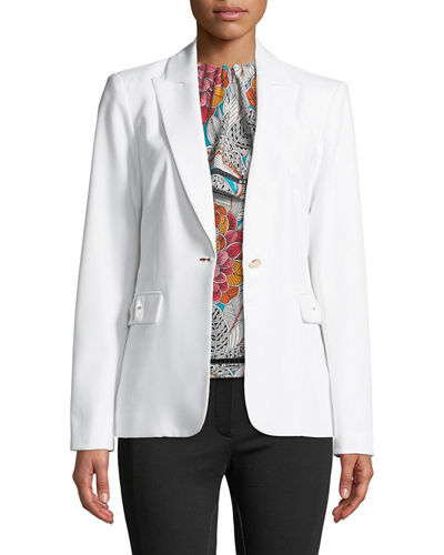 Iconic American Designer Structured Blazer Jacket