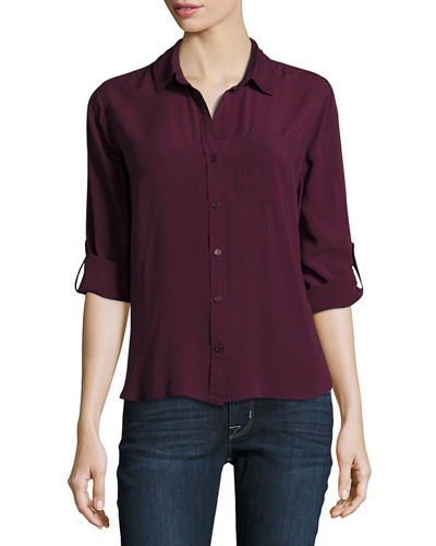 Elisa Button-Up Blouse
